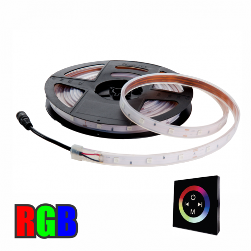 FITA LED RGB 5050 72W + CONTROLE TOUCH