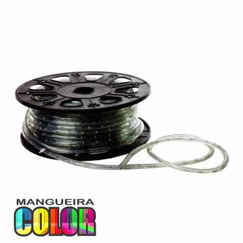 MANGUEIRA LED COLOR 220V ROLO 50m